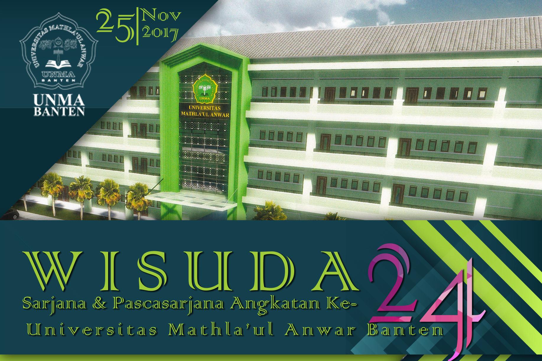 Wisuda ke-24 UNMA Banten Luluskan 529 Sarjana