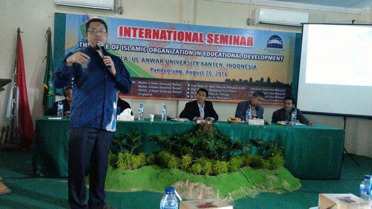 UNMA Banten – USIM Malaysia Selenggarakan Seminar Pendidikan