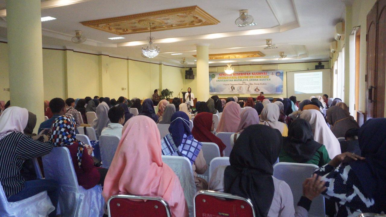 Seminar Kesehatan Nasional FSFK UNMA Banten, Bagaimana Tampil Cantik dan Tetap Sehat