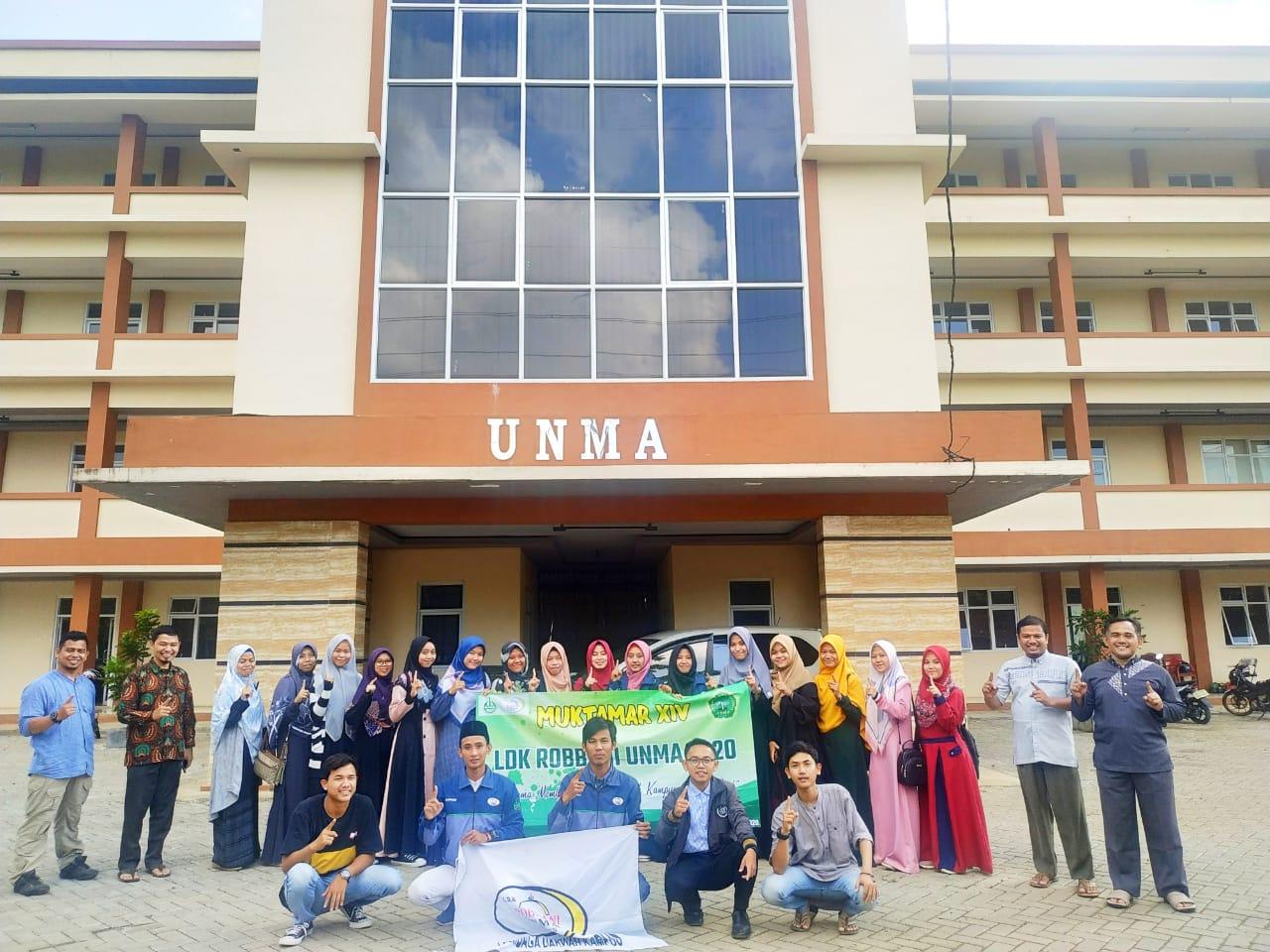 Pemimpin Baru UKM LDK Robbani Unma Banten