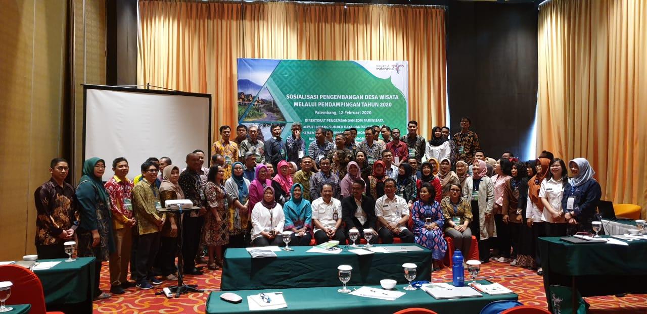 UNMA Banten Ikuti Sosialisasi Pengembangan Desa Wisata di Palembang